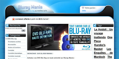 Vos films blu ray pas cher