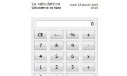 Ma calculatrice en ligne en quelques clics