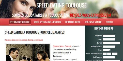 Les soirées speedating de Toulouse